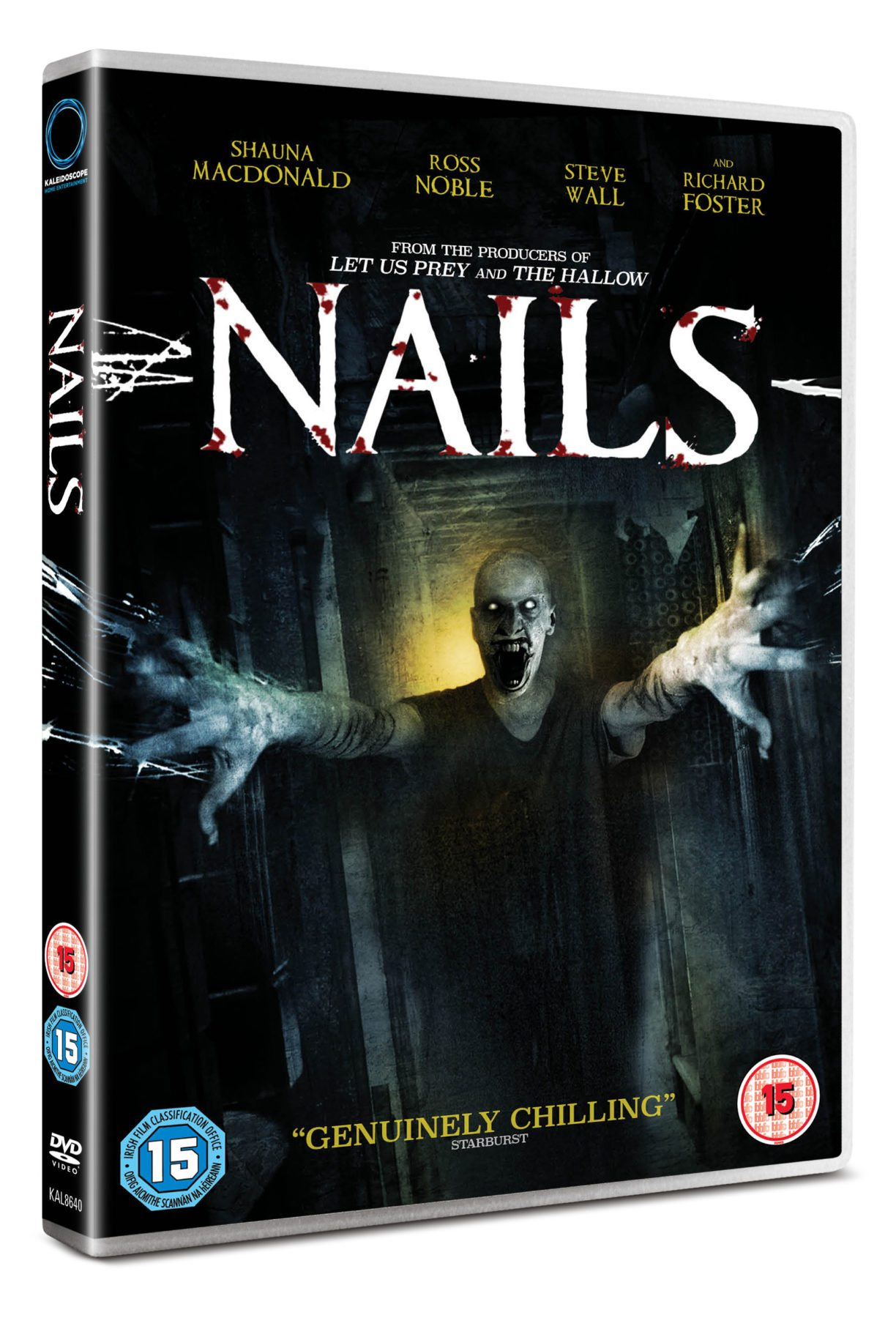 Giveaway - Win horror film Nails on DVD - NOW CLOSED