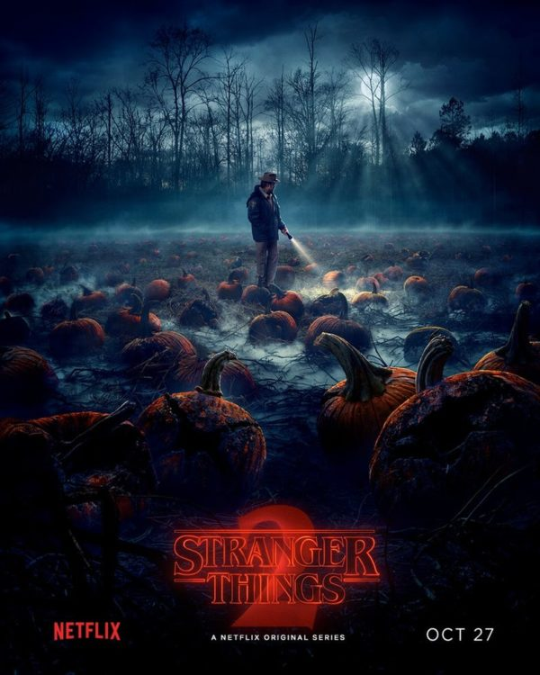 Stranger Things season 2 poster has a traditional Halloween theme ...