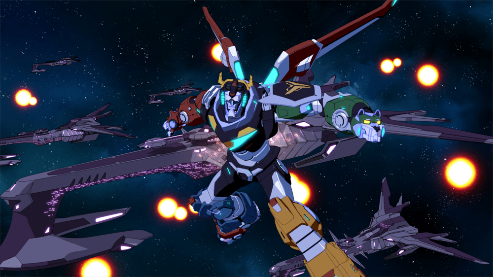 Sneak Peek Clip And Images From Voltron Legendary Defender