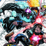 Venom and the X-Men cross over in Poison X