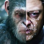 War for the Planet of the Apes scene comparisons show before and after VFX