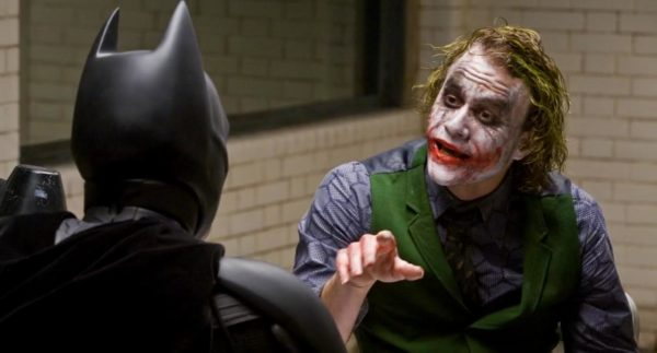 Image result for the dark knight interrogation