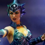 Sideshow unveils its Masters of the Universe Evil-Lyn collectible statue
