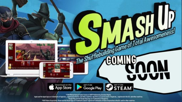 New teaser trailer for shuffle building card game Smash Up