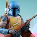 The Star Wars Holiday Special Boba Fett collectible figure available to pre-order from Sideshow