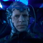 Concept art for The Flash's season 4 villain The Thinker