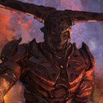 Thor: Ragnarok concept art featuring Thor, Hulk, Hela, Surtur and Valkyrie