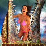 Sales art for Roger Corman's CobraGator starring Michael Madsen