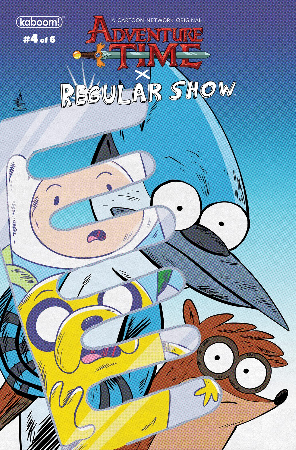preview of adventure time regular show 4
