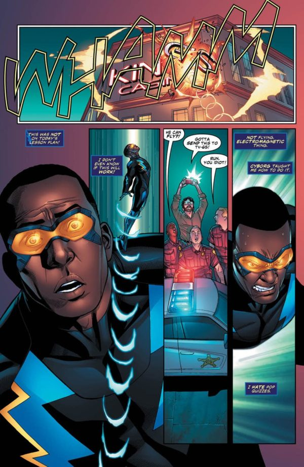 Image result for black lightning comic  cold dead hands