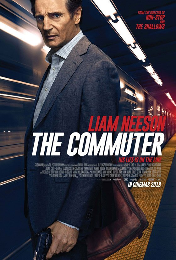 commuter posters liam neeson featured daily