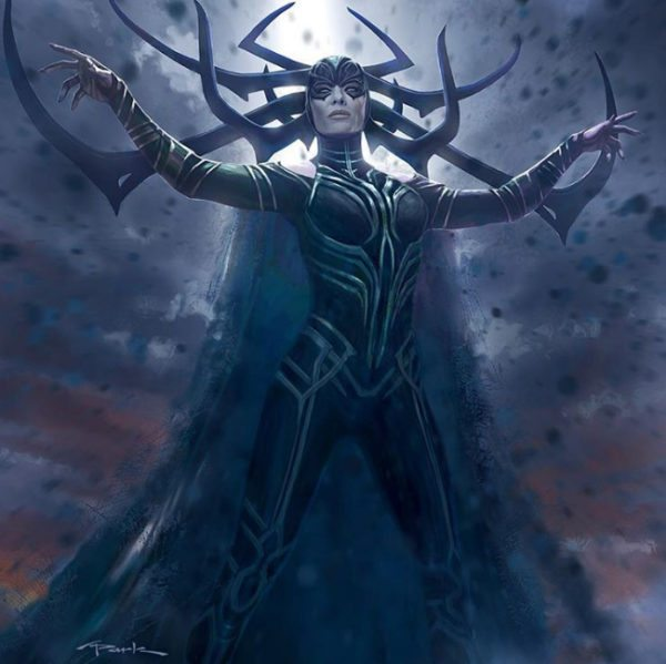 hela was almost the villain in thor the dark world