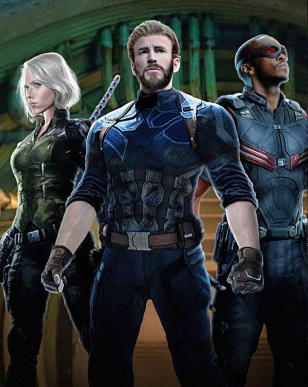 Captain America, Black Widow and Falcon featured on ...