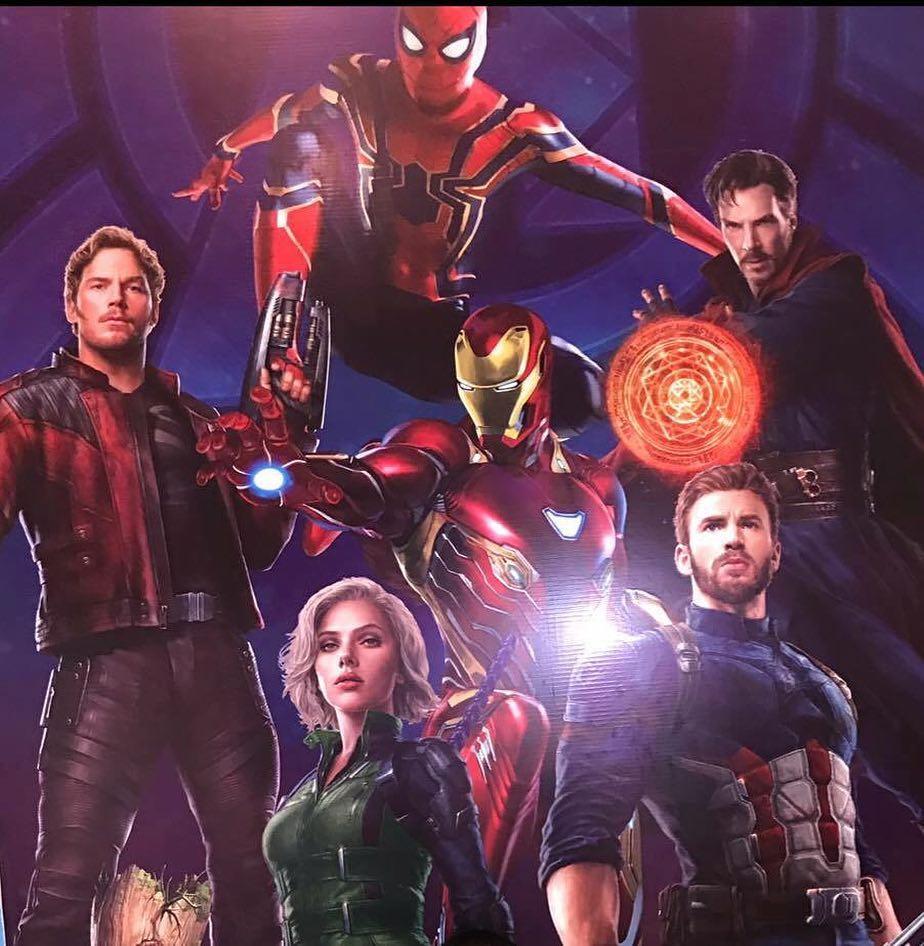 Heroes Assemble For New Avengers Infinity War Promo Art