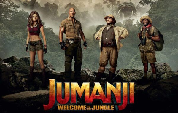 Movie Review - Jumanji: Welcome to the Jungle (2017)
