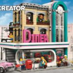 Watch a designer video for LEGO's new modular set Downtown Diner