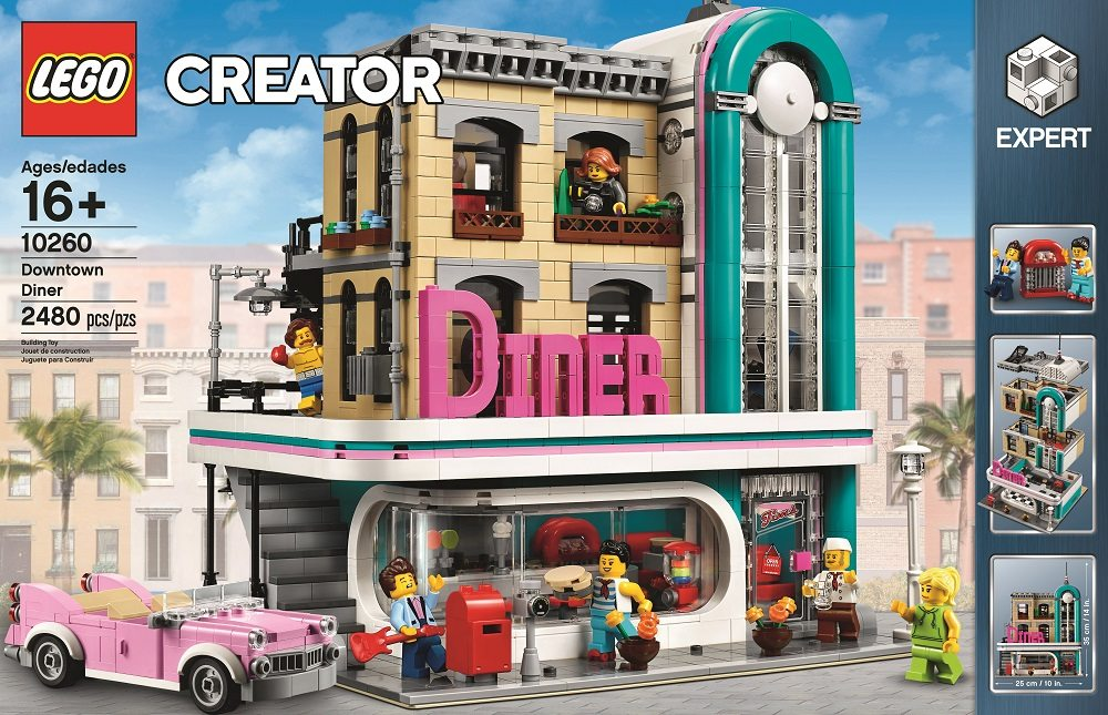 Watch A Designer Video For Lego S New Modular Set Downtown