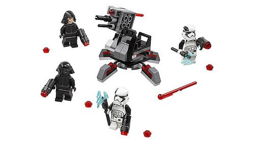 Promotional images for new LEGO Star Wars 2018 sets