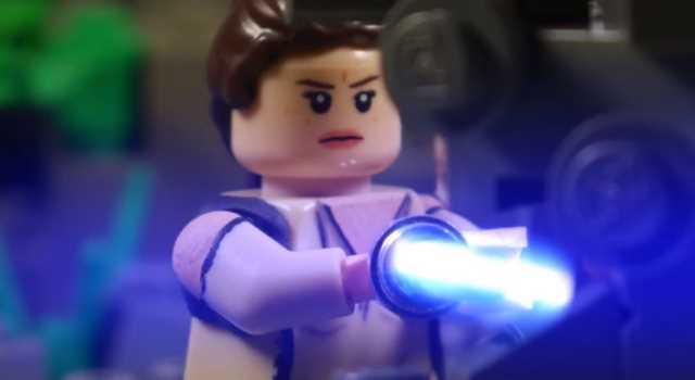 Star Wars The Last Jedi Trailer Gets A Lego Remake