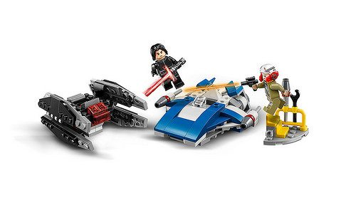 LEGO-Star-Wars-A-Wing-vs.-TIE-Silencer-Microfighters-75197