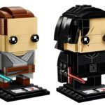 LEGO's Star Wars: The Last Jedi Rey and Kylo Ren Brickheadz two-pack available now