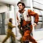 Oscar Isaac filmed Star Wars: The Last Jedi and Annihilation at the same time