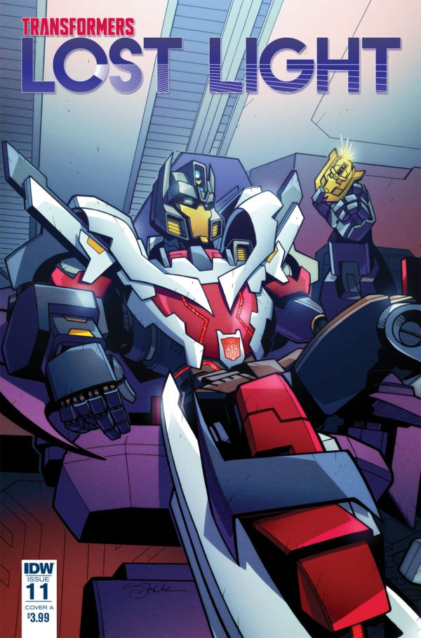 Comic Book Review - Transformers: Lost Light #11