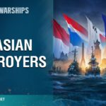 Pan-Asian destroyers on their way to World of Warships