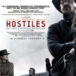 UK poster for Hostiles featuring Christian Bale, Rosamund Pike and Wes Studi