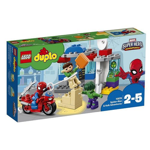 Lego Unveils New Marvel And Disney 2018 Duplo Sets