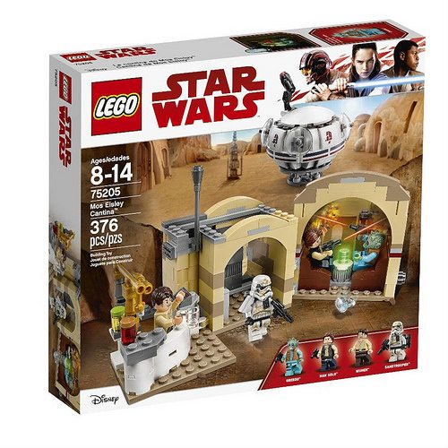 LEGO unveils new Star Wars Mos Eisley Cantina set