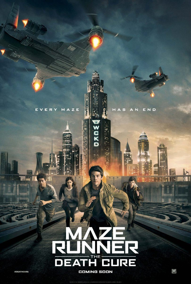 Maze Runner: The Death Cure gets a new poster