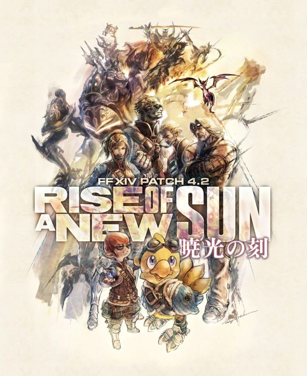 Final Fantasy XIV Patch 4 2 Rise of a New Sun details and Fan Fest