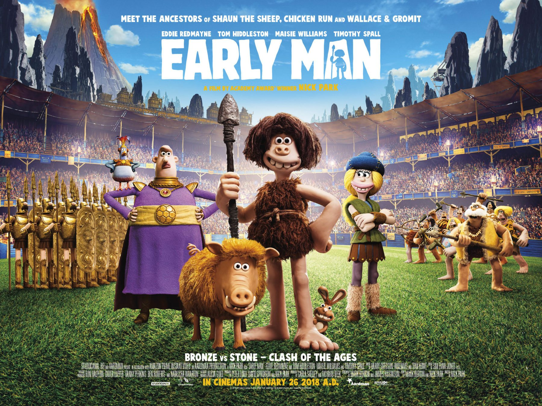 The Shack Full Movie Online Free >> Aardman's Early Man gets a new poster and trailer