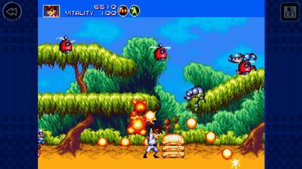 gunstar heroes available to download free as part of the sega