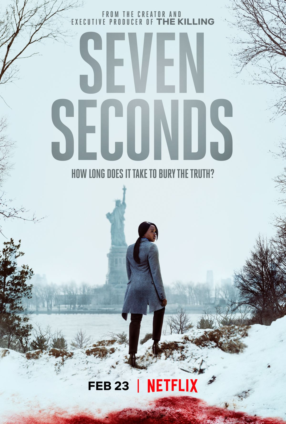 netflix releases new trailer and poster for seven seconds flickering myth. Black Bedroom Furniture Sets. Home Design Ideas