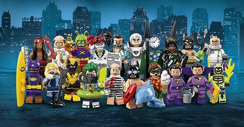 Promo Images For The Lego Batman Movie Collectible