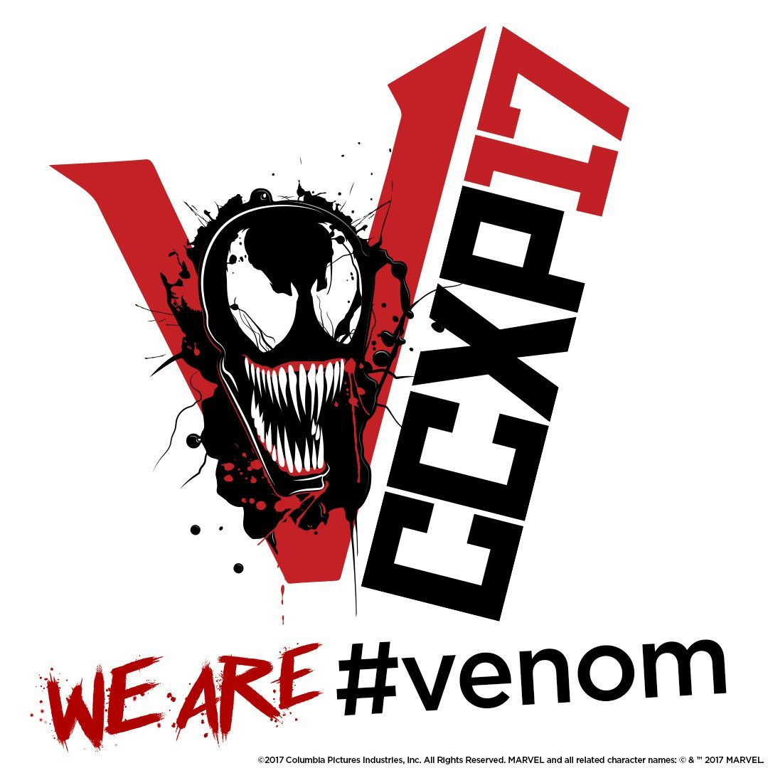 Venom teaser poster from Brazil's Comic-Con Experience