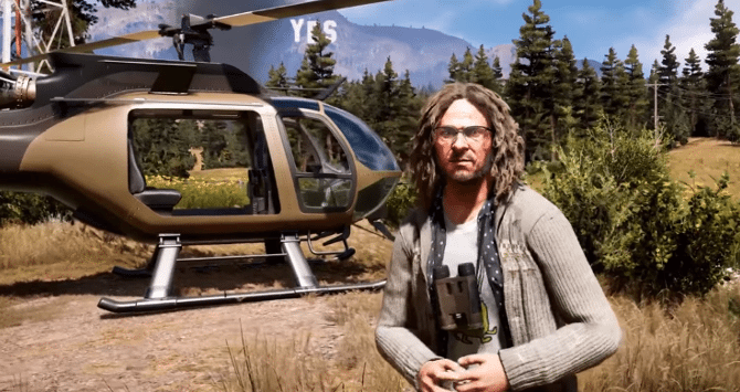 Meet Crazy Larry Parker In New Far Cry 5 Gameplay Video