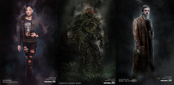 Concept Art From Failed Justice League Dark Pitch Featuring