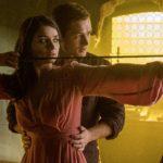 Taron Egerton, Eve Hewson and Jamie Foxx in first Robin Hood: Origins images