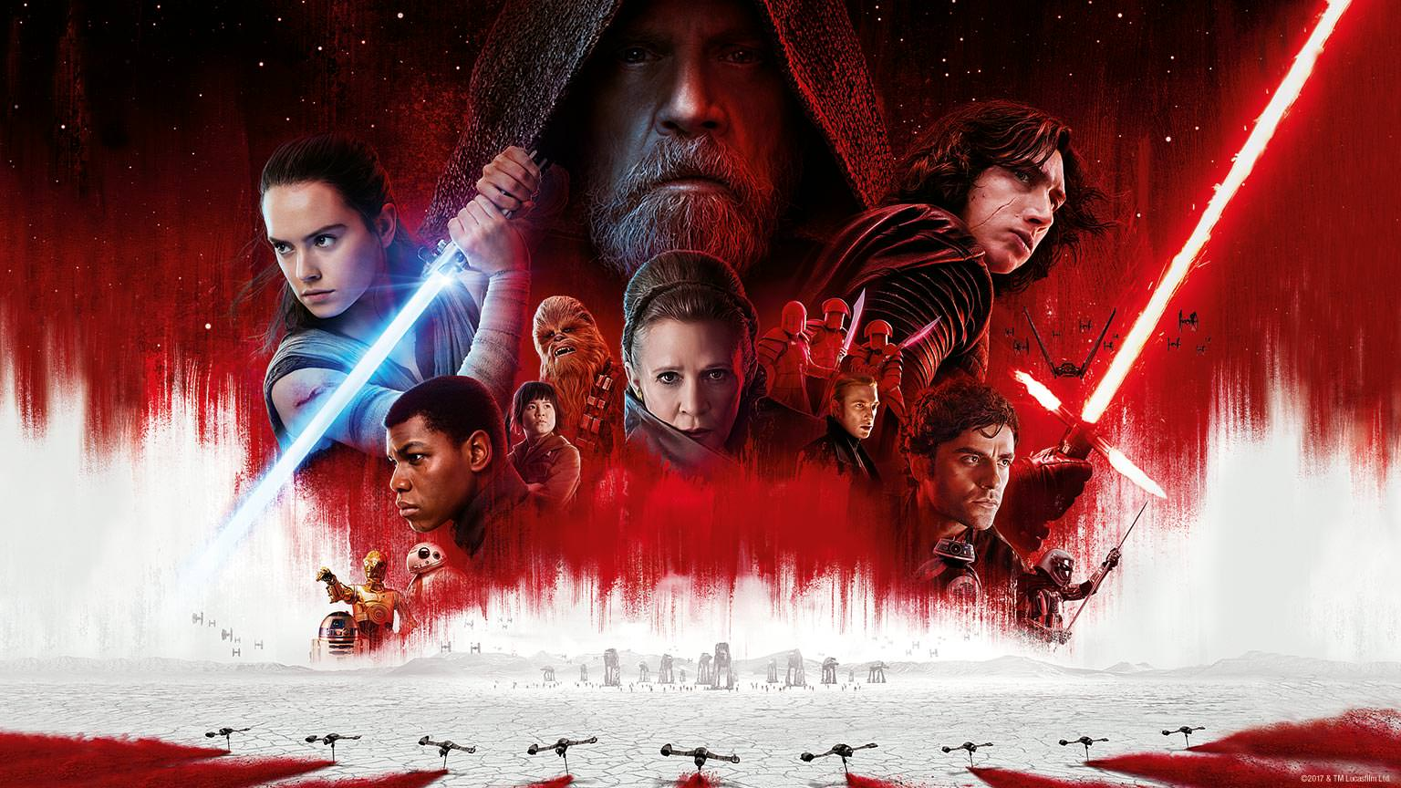 Star Wars: The Last Jedi crosses $800 million at the worldwide box office