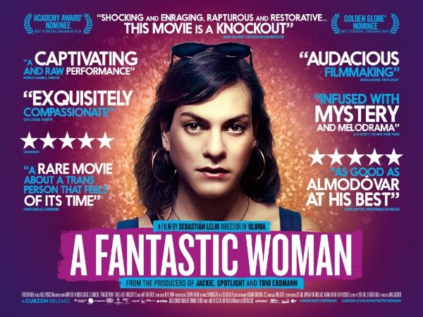 New poster and trailer for acclaimed drama A Fantastic Woman