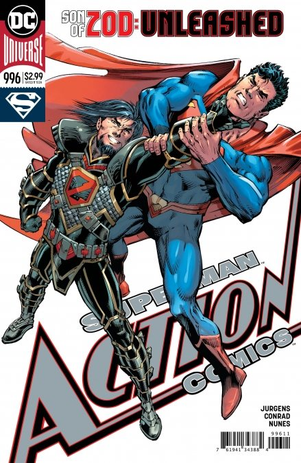 the son of zod is unleashed in action comics 996 check out a