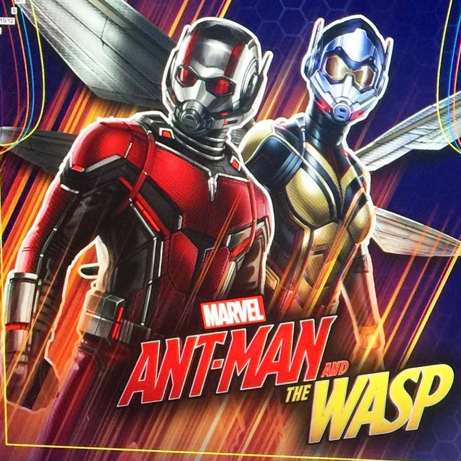New promo art for Marvel's Ant-Man and the Wasp ...