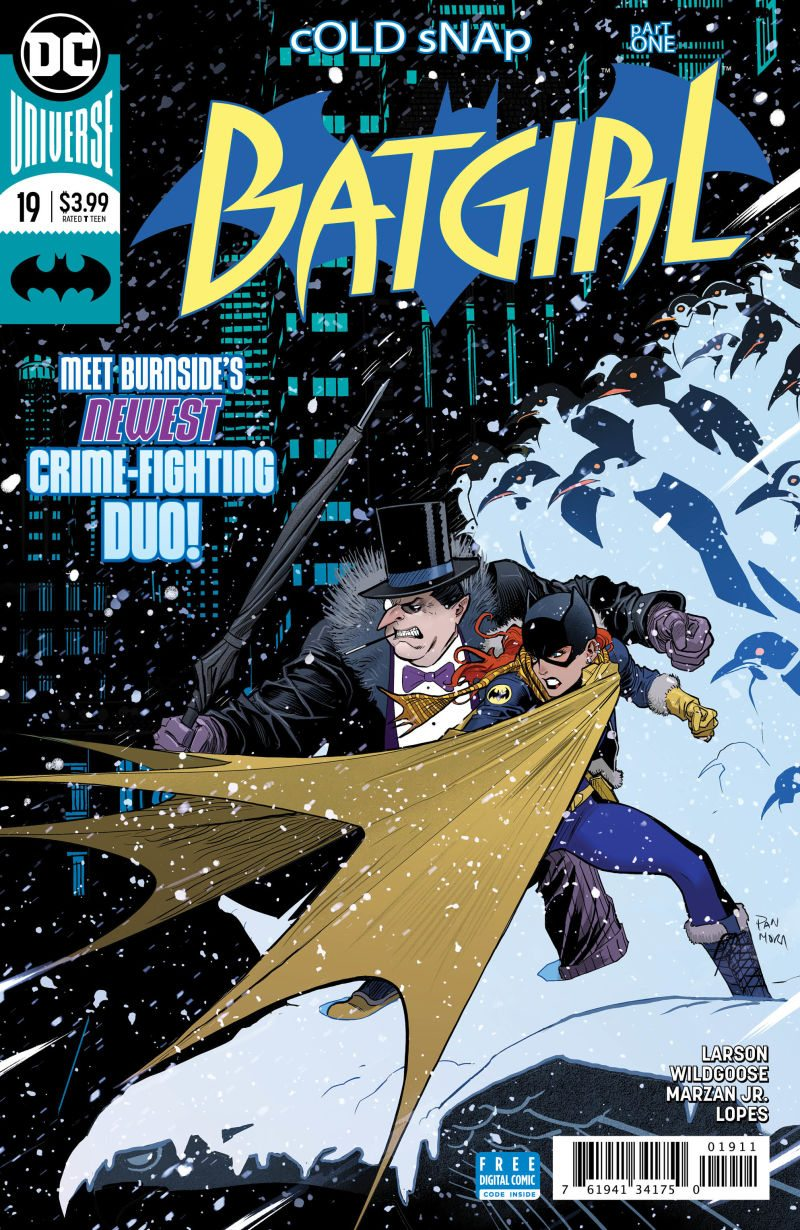 'Cold Snap' begins in Batgirl #19, check it out here