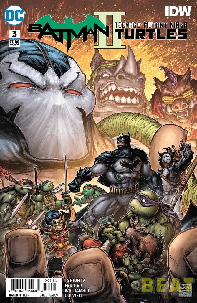 preview of batmanteenage mutant ninja turtles ii 3