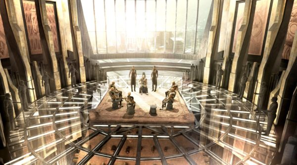 Marvel S Black Panther Gets A Batch Of New Concept Art
