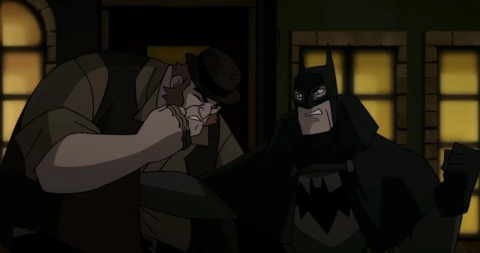 The Dark Knight Vs Big Bill In New Clip From Batman Gotham By Gaslight