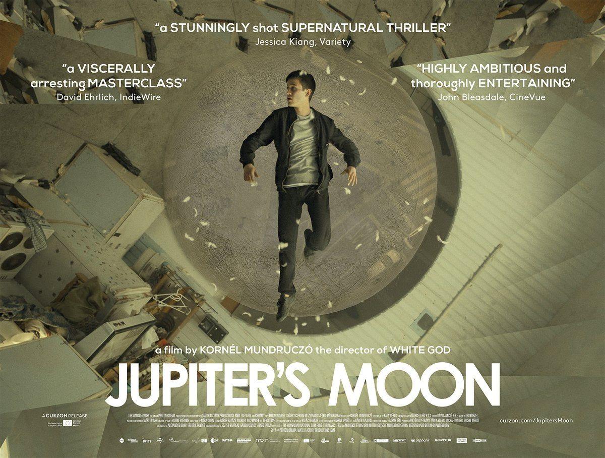 Resultado de imagem para Jupiter's moon Kornél Mundruczó Poster